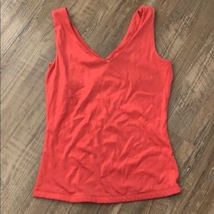 Caché V-Neck Dressy Sleeveless Tank Top
